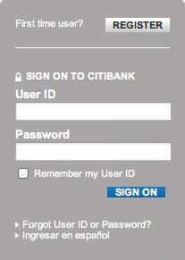 Citi account