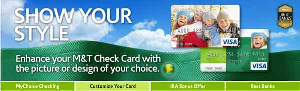 Credit card m&t