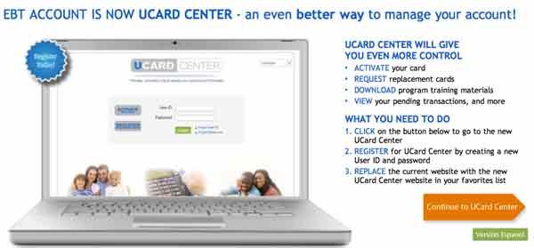 U-card EBT jpmorgan